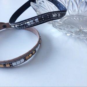 Stella & Dot Choker Necklaces Blush Black